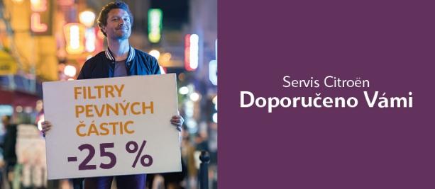 FILTRY PEVNÝCH ČÁSTIC SE SLEVOU 25 %!